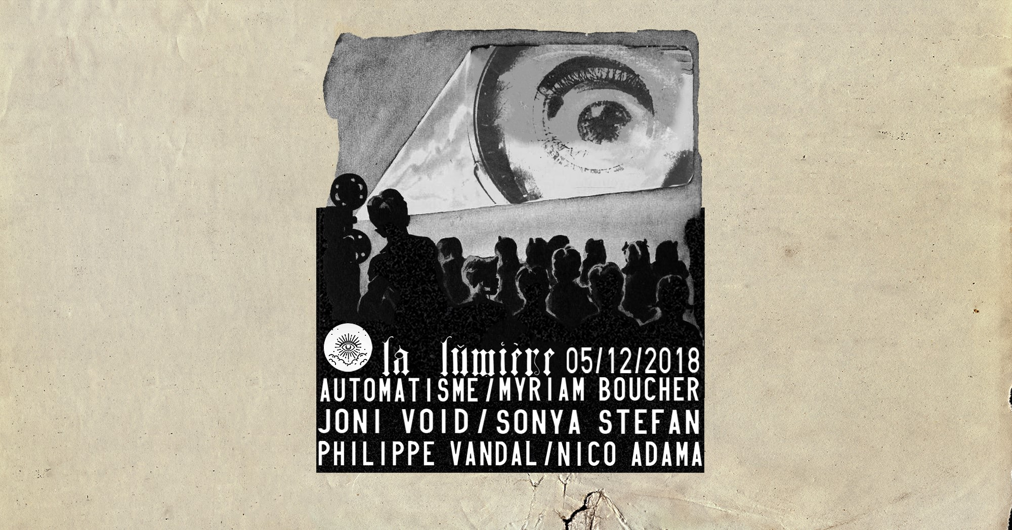Automatisme/ Myriam Boucher + Joni Void / Sonya Stefan + Philippe Vandal / Nico Adama